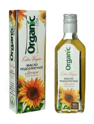 Organic Life Масло подсолнечное легкое 250 мл