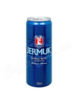 Джермук Вода минеральная, газированная  0,33 л ж.б.