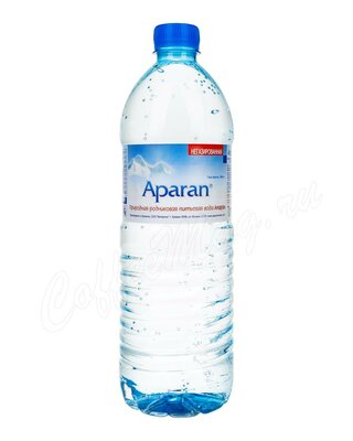 Aparan, Вода родниковая без газа пластиковая бутылка 1 л