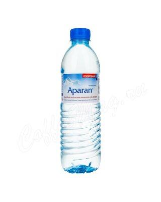 Aparan, Вода родниковая без газа пластиковая бутылка 0,5 л
