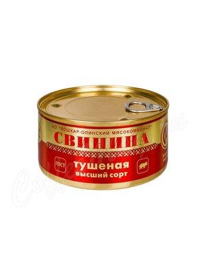 ЙОМ Свинина тушеная высший сорт №8 Йошкар-Олинский МК Люкс 325 г