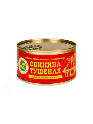 ЧМК Свинина тушеная ГОСТ Череповецкий МК 325 г